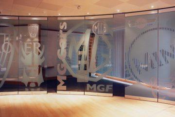 Steklene premične stene G3000