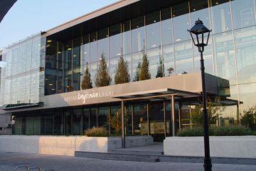 Slika Zgradbe Knjiznice Kranj