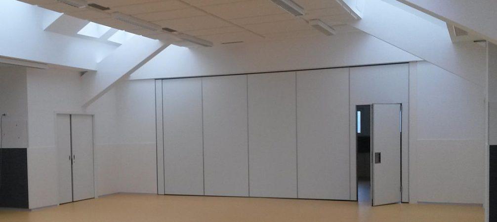 Slika Premične stene HUFCOR 100K Vrtec Bled