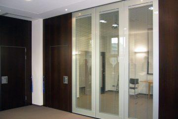 premične steklene stene  moVISTA do 47 dB zvočne zaščite